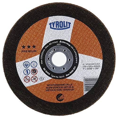 TYROLIT Trennscheibe Premium*** ALU | 115x2,5 mm | gerade | Form 41 | 1 Stück