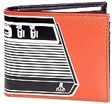 Atari Cartera Consola Logo Nue Oficial Jugador Bifold