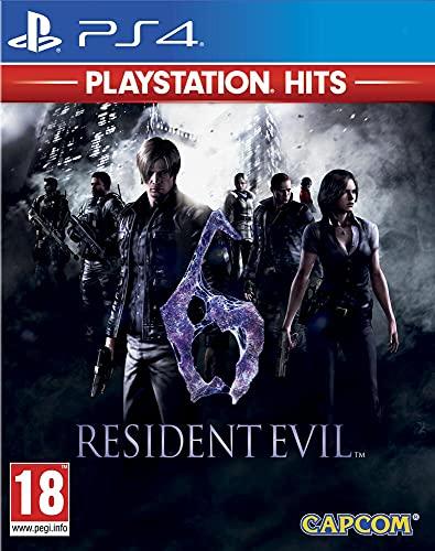 Resident Evil 6 Hits Jeu d'Action/Aventure Version Physique 1-4 Joueurs Mode Simple Joueur PEGI 18 (PS4)
