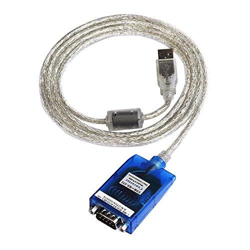 Chipset FTDI USB a porta seriale RS232DB9,adattatore convertitore dati, supporto collegabile a PC, laptop, notebook, sistema PLC Mac, Windows, Linux a 32 o 64 bit