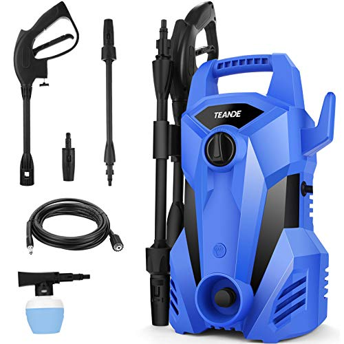 Pressure Washer,TEANDE 2300 Max PSI Electric Pressure Washer,Portable High...