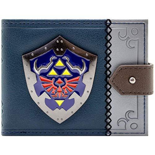 Legend of Zelda Link's Hylian Schild Schwarz Portemonnaie Geldbörse