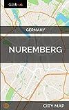 Nuremberg, Germany - City Map