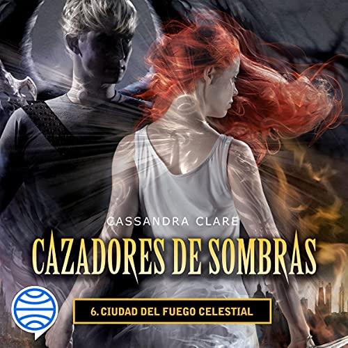 Diseño de la portada del título Ciudad del fuego celestial