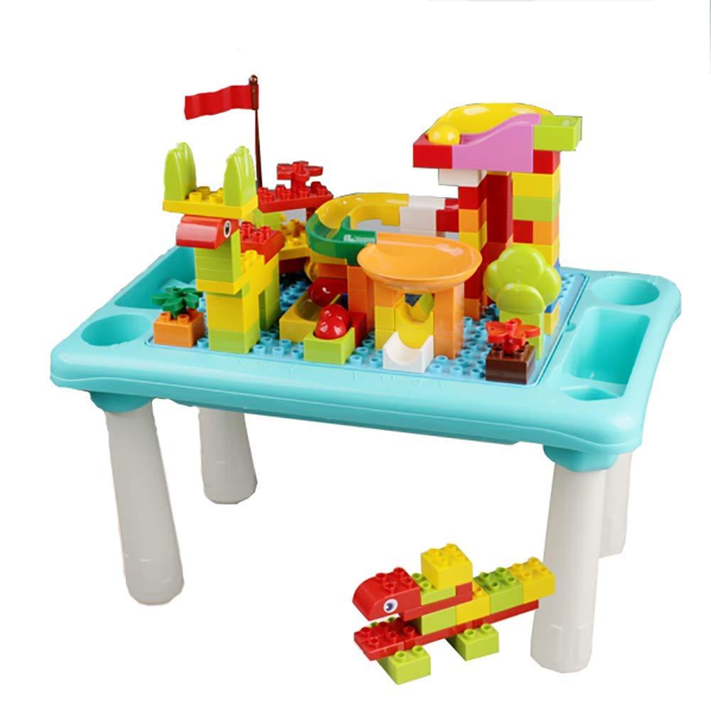 Juego de mesa y silla para niños, 136 piezas Juegos de mesa y silla para niños