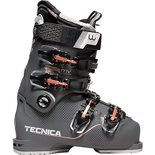 Moon Boot Tecnica Mach1 MV 95 W Chaussures de Ski pour Femme, Graphit (202), 25.5