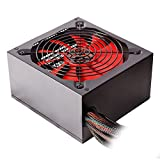 Mars MP1000 Gaming - Alimentation pour PC sans câble (1000W, 85+ efficacité, ATX, ventilateur 12...