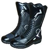 protectWEAR Stivali Moto da Montagna, Nero, Taglia 41