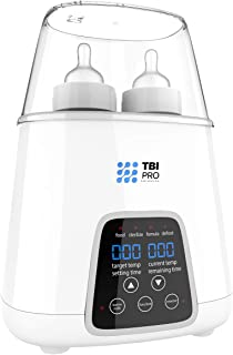 2019 Bottle Warmer 5-in-1 BPA-Free Premium Quick Baby Bottle Warmer and Sterilizer with Timer – Defrosting and Heating Settings for Baby Food, Breastmilk, and Formula