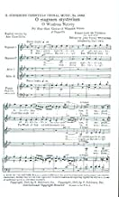 O Magnum Mysterium Una O Great Mystery SSAA a cappella