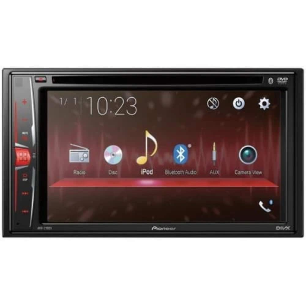 Pioneer Avh 210ex In Dash 2 Din 6 2 Touchscreen Dvd Receiver With Bluetooth