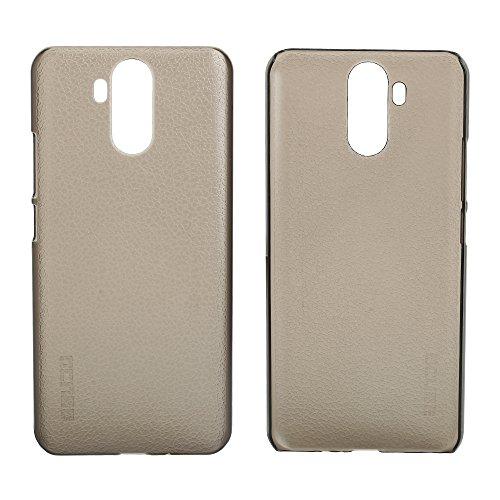 Easbuy Handy Hülle Hard Plastik Case Etui Tasche für Vernee X 4G Phablet 5,99 Zoll Smartphone Cover Handytasche Handyhülle Schutzhülle (Transparent Grau)
