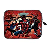 Spide-rverse Spid-ermans Laptop Sleeve Case Bag Cover Tablet Briefcase Carrying Bag for 14 Inch MacBook Pro/MacBook Air/Notebook/Ultrabook/Chromebooks