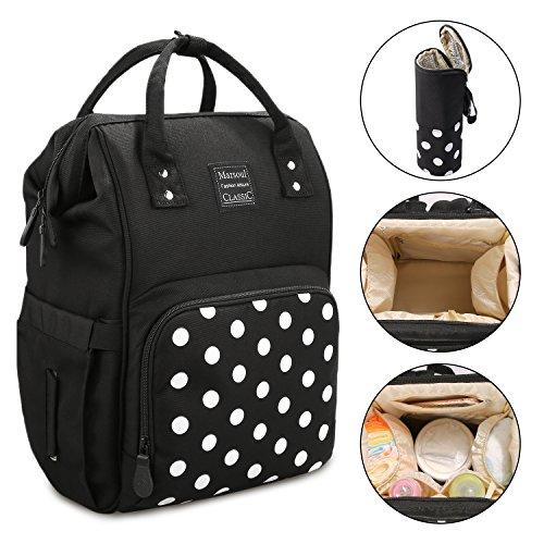 Baby Wickeltasche Rucksack, Marsoul Multi-Funktions-wasserdichte Reise-Rucksack-Windel-Taschen, große Kapazität Baby Bag