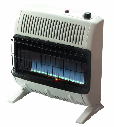 Our #3 Pick is the Mr. Heater VF30KBLUELP 30,000 BTU Blue Flame Heater