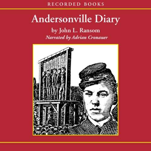 Andersonville Diary audiobook cover art