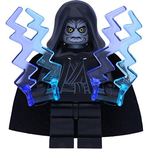 LEGO Star Wars Minifigur: Emperor Palpatine / Darth Sidious mit Machtblitzen