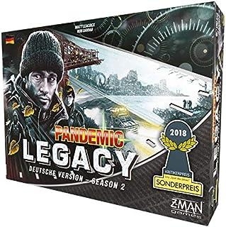 Z-Man Games ZMND0004 Pandemic Legacy – Season 2 svart