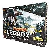 ZMan-Pandemic Legacy-Season 2, Color Negro, (Z-Man Games ZMND0004)