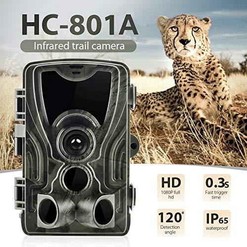 Elegstunning Waterdichte camera voor nachtzicht IR Wildlife camera 1080P HD 16MP