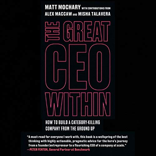 Couverture de The Great CEO Within