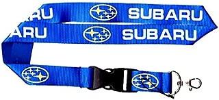 SUBARU Keychain Lanyard (Blue with Yellow Logo)