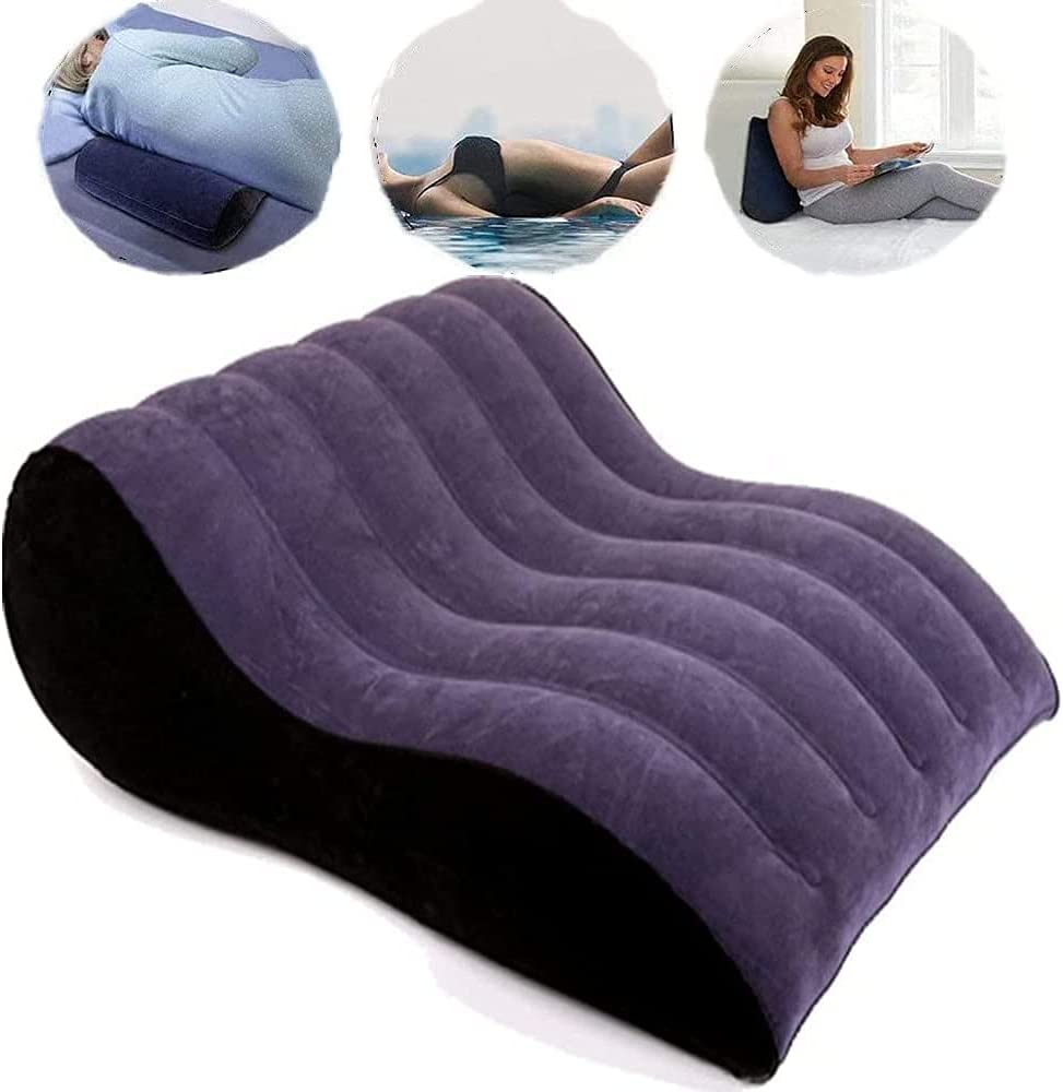 Inflatable Ranking integrated 1st place S@èx Cushion Magic Weave Ranking TOP7 Furniturë Positi Pillow Navy