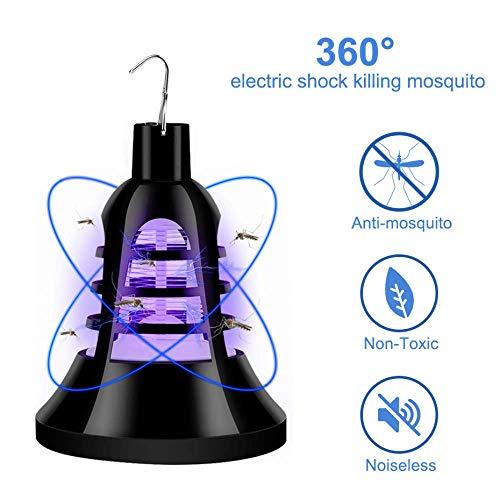 2 Stks Muggen Killer Lamp Licht 220 V LED Trap Lamp E27 Insect Anti Muggen Afstotend Killing Fly Insect Nachtlampje 18 LEDs USB 5 V