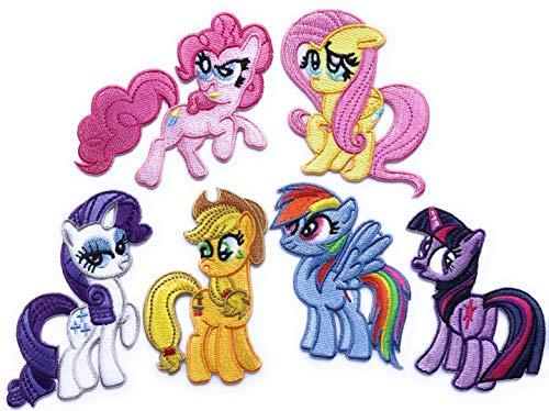 i-Patch - Patches - 0129 - Pferd - Pony - Applikation - Einhorn - Fohlen - Pferdekopf - Pferde - Hufeisen - Reiten - Aufbügler - Aufnäher - Sticker - zum aufbügeln - Flicken - Bügelbild - Badges
