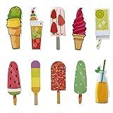 Simpatici segnalibri colorati per bambini, ragazzi e ragazze, 30 pezzi, tema estivo...