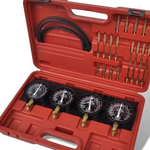 AllRight Synchrontester f/ür 4 Vergaser Synchrontestger/ät Vergaseruhren Synchronuhren PKW Motorrad Vakuumpr/üfer