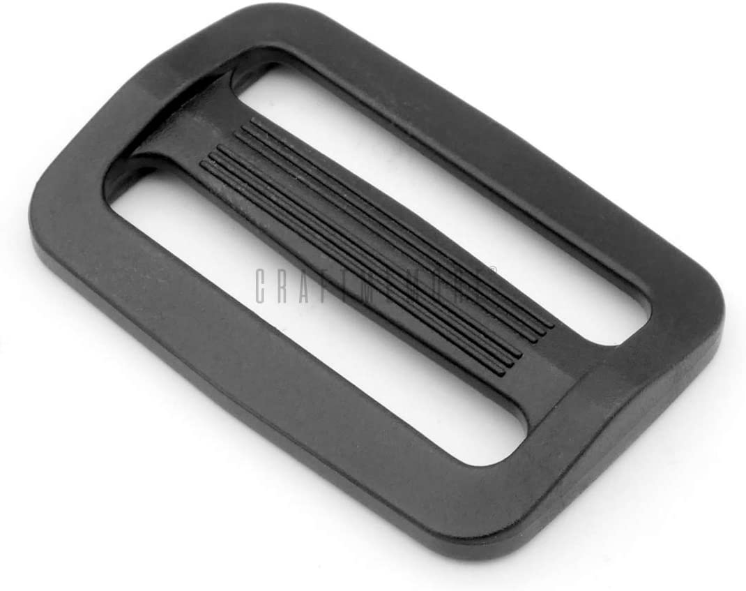 CRAFTMEMORE Plastic Selling Slide Buckle Rectangle Challenge the lowest price of Japan ☆ Slider Ring Triglide