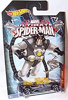 hotwheels marvel ultimate spiderman what 4-2 doctor octopus car 1.64 scale model by Hot Wheels