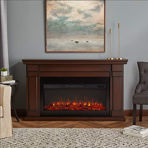 Real Flame Carlisle Electric Fireplace, Chestnut Oak