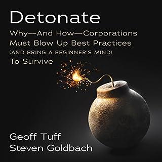 Detonate audiobook cover art