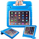 Surom Kids Case for iPad 2 3 4 - Light Weight Shock Proof Convertible Handle Stand Kids Friendly for iPad 2, iPad 3rd generation, iPad 4th generation Tablet - Blue