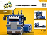 Custom Freightliner cabover (Instruction Only): MOC LEGO