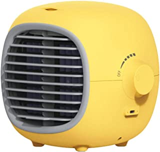 cheaakk Aire Acondicionado portátil Aire Acondicionado portátil Enfriador de Aire Mini Aire Acondicionado Personal Enfriador evaporativo USB con Ventilador de humidificación refrigerado por Agua