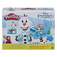 [プレイ・ドー] Play-Doh Disney Frozen ディズニー アナと雪の女王 オラフのそり 小麦ねんど セット 5パック トロール 冬 雪 おもちゃ 男の子 女の子 [並行輸入品]