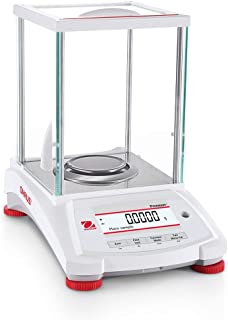 Ohaus PX224 Pioneer Analytical Balance, 220g x 0.0001g, Internal Calibration with Draftshield