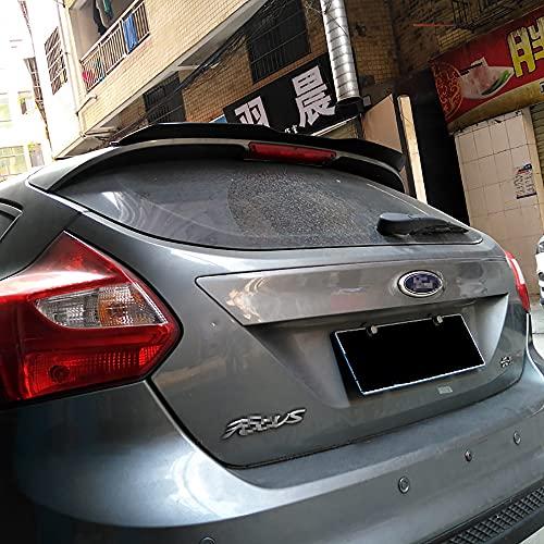 WXQYR Alerón Trasero de Caja Trasera de Coche ABS alerón de Techo Trasero para Ford Focus 2012-2017 Accesorios de Coche