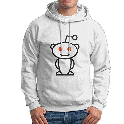 DDFERh Reddit Logo Men's Cool Hooded Sweatshirt Sweatshirts