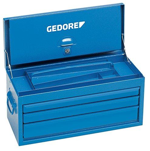 Gedore 1420 L - Caja de herramienta con 3 cajones, vacía 298x610x265 mm