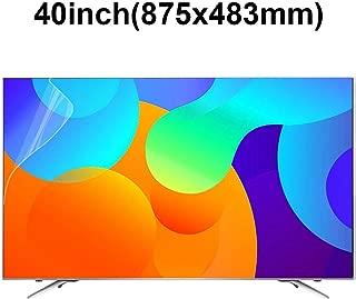 KUYUC 40inchs TV Screen Protector, Anti Blue Light Eye Protection, Ultra-Clear Anti-Glare Screen Filter, Anti-Scratch Screen Protector, Filter Film Reduce Eye Fatigue (Color : A)