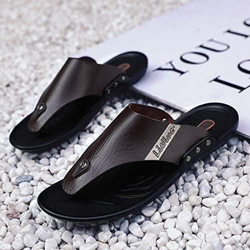N / A Sportliche Outdoor-Schuhe für Herren (Farbe: Dunkelbraun, Größe: 40)