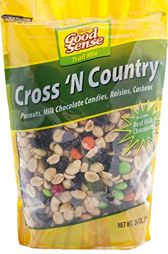 Good Sense Cross N' Country Trail Mix, 26 Oz Value Size Resealable Bag, Pack of 10 resealable bags, (Pack Of 10)