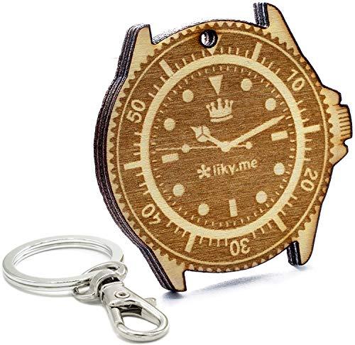 LIKY® Relojes - llavrero Original de Madera Grabado Regalo para día del...