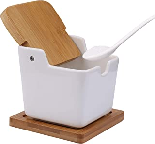 9 cm Durchmesse Salztopf Zuckerdose Behälter Gefäß mit Deckel aus Olivenholz ca