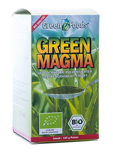 Green Magma extrait d'herbe d'orge en poudre, 150 g