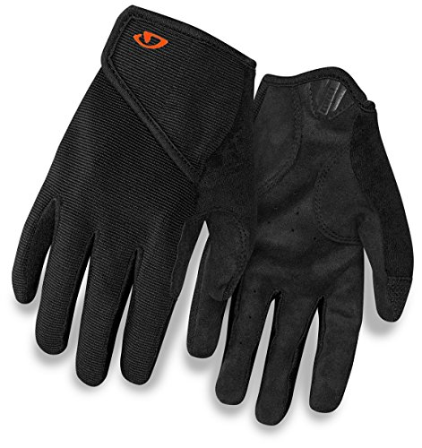 Giro DND Jr II Youth Unisex Mountain Cycling Gloves - Black (2020), Small